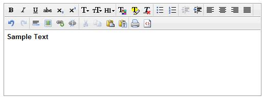 clEdit wysiwyg html editor
