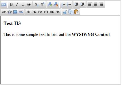 jJHTML wysiwyg html editor