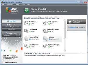 AVG Anti-Virus 2011 Free Edition